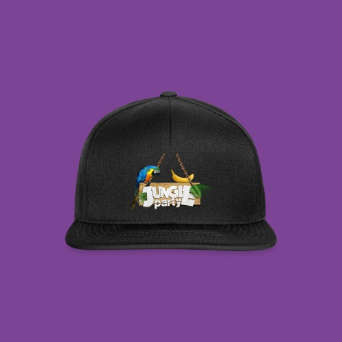 logo Jungle Party png - Casquette snapback