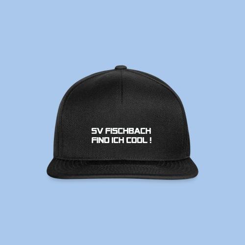 SVF-find-ich-cool_weiss - Snapback Cap