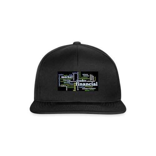 Designed T-Shirt for Traders Forex Stock Market - Snapback Cap