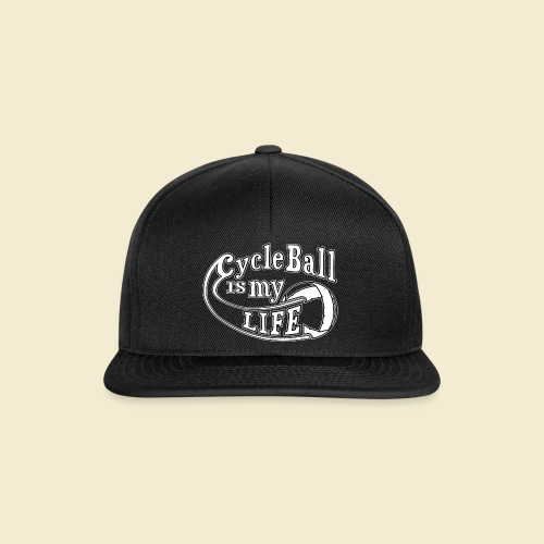 Radball | Cycle Ball is my Life - Snapback Cap