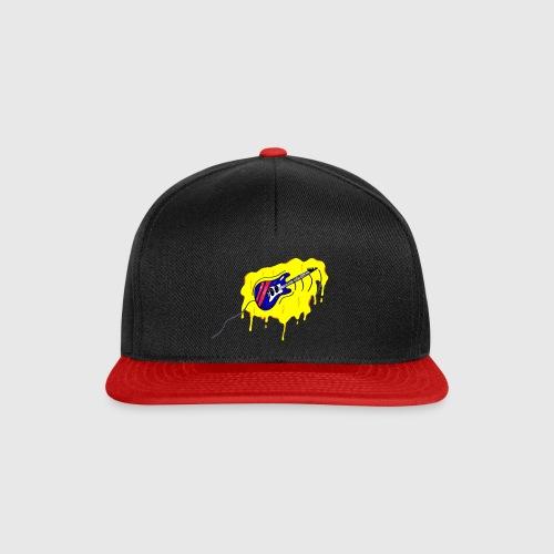 gitaar graffiti-style - Snapback cap