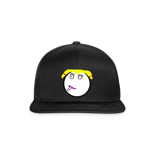 Syno Smiley Mädchen - Snapback Cap