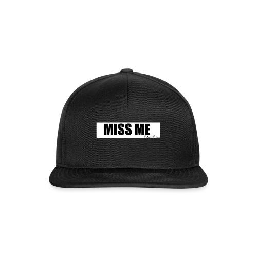 MISS ME - Snapback Cap