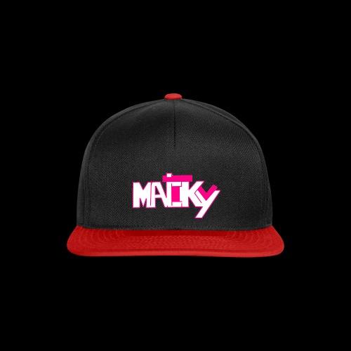 MaickyTv Pink - Snapback Cap