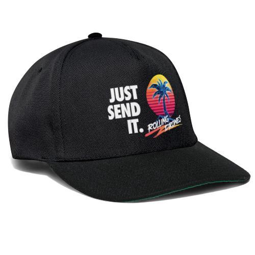Just Send It @ RollingDrones - Snapback Cap