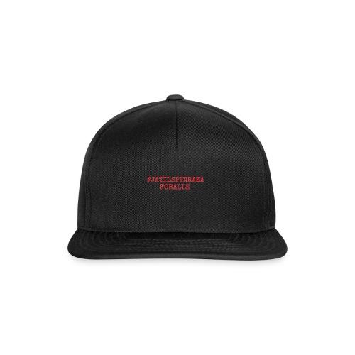 #jatilspinrazaforalle - rød - Snapback-caps