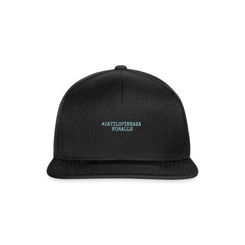#jatilspinrazaforalle - lysblå - Snapback-caps