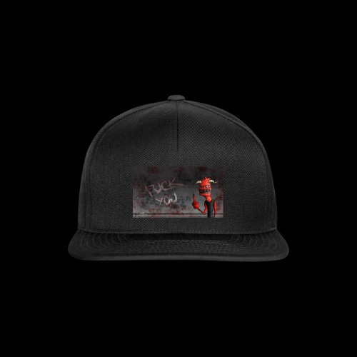 fuck you. - Snapback Cap