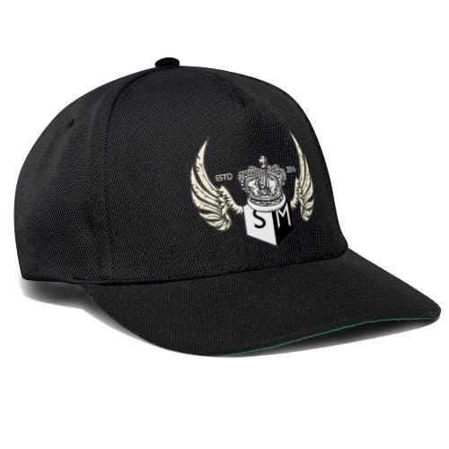 Supplemental sports wings logo design. - Snapback Cap