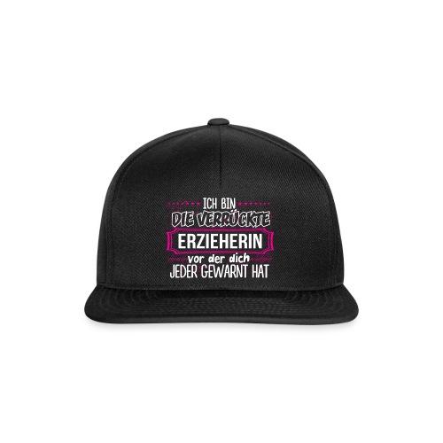 ERZIEHERIN - Warnung - Snapback Cap
