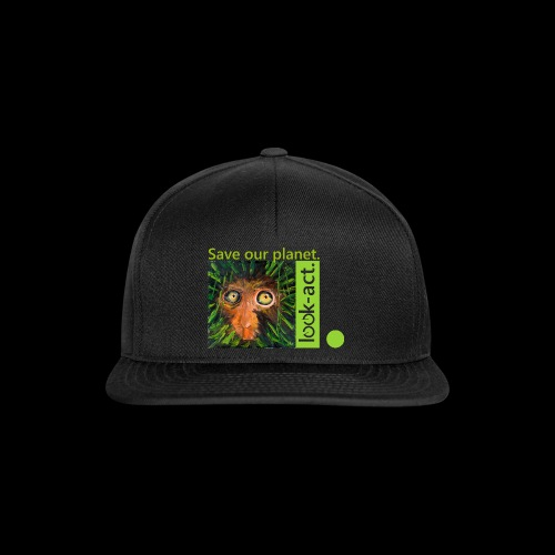 Save our planet. Affe im Regenwald - Snapback Cap