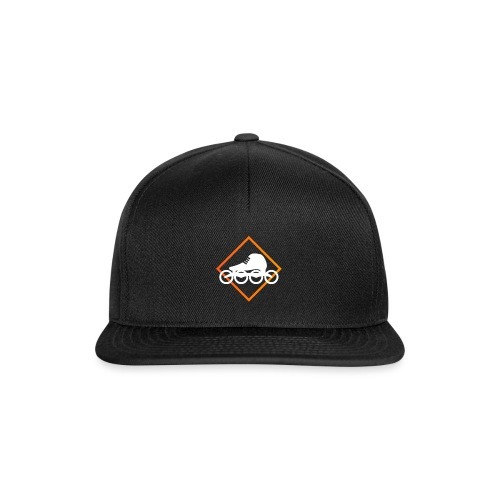 Speedskating Orange - Snapback Cap