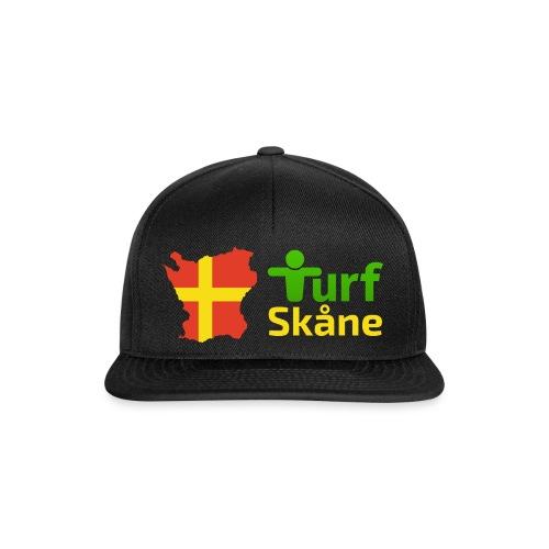 Turf Skåne Logo gul - Snapbackkeps