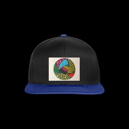 circle corlor - Snapback Cap