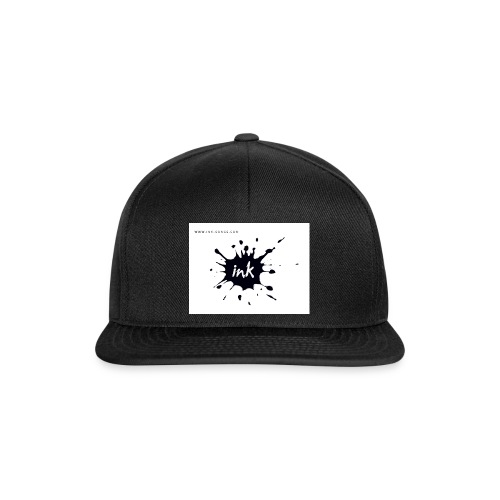 Ink Logo and website - Snapback Cap