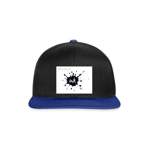 Ink Logo and website - Snapback Cap