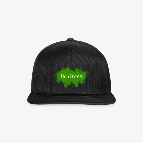 Be Green Splatter - Snapback Cap