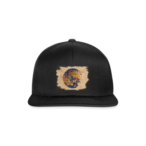 S(l)ave the planet - Snapback Cap