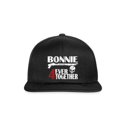 Bonnie - Clyde Geschenk Geschenkidee - Snapback Cap