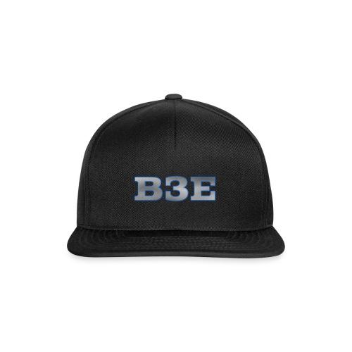 B3E: Logo - GlowingSteel - Snapback Cap
