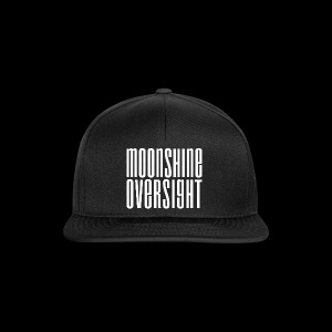 Moonshine Oversight blanc - Casquette snapback