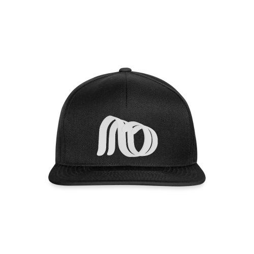 Afterbang logo hvit - Snapback-caps