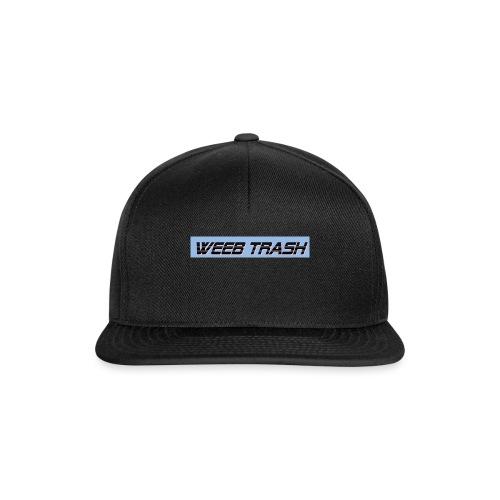 Weeb trash - Snapback Cap