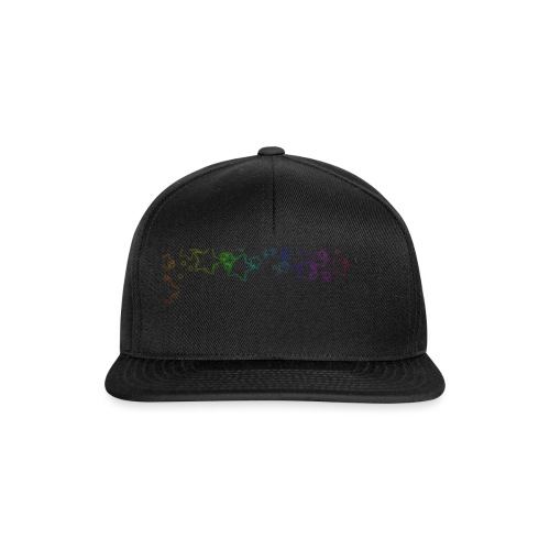Rainbow Stars - Snapback Cap