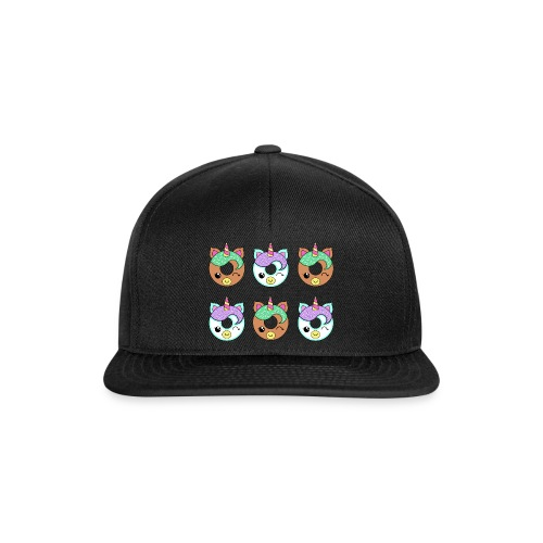 Unicorn Donut - Snapback Cap