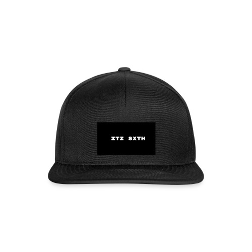 Itz Sxth Black and White - Snapback Cap