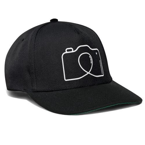 Symbole de photographe de montagnes russes - Casquette snapback