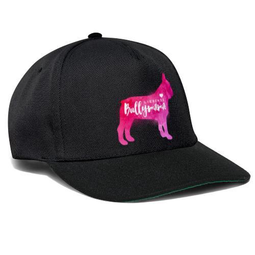 Liebende Bullymama - Französische Bulldogge - Snapback Cap