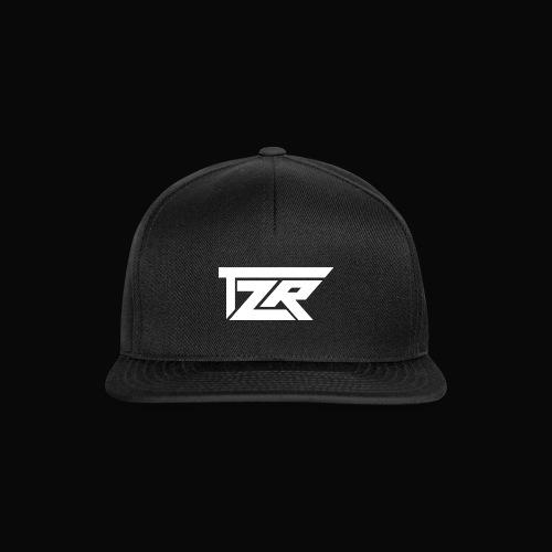 TZR White Logo - Snapback Cap