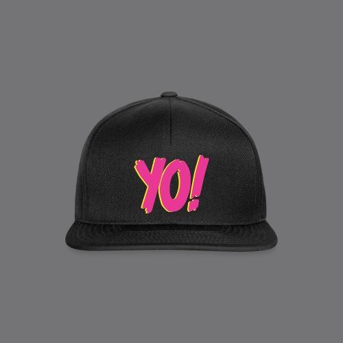 YO Tee Shirts - Snapback Cap