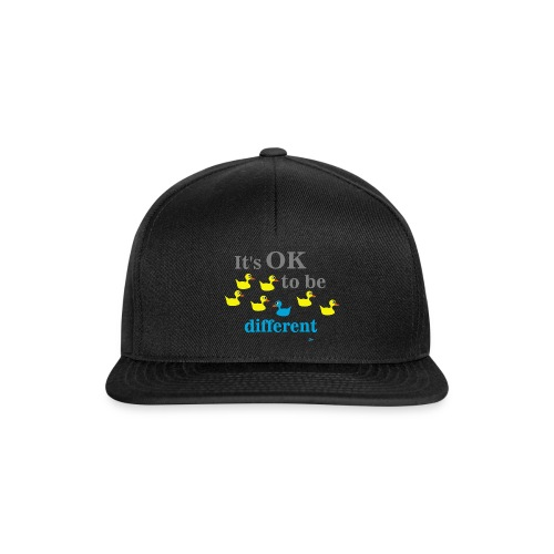 It's OK to be different - Czapka typu snapback