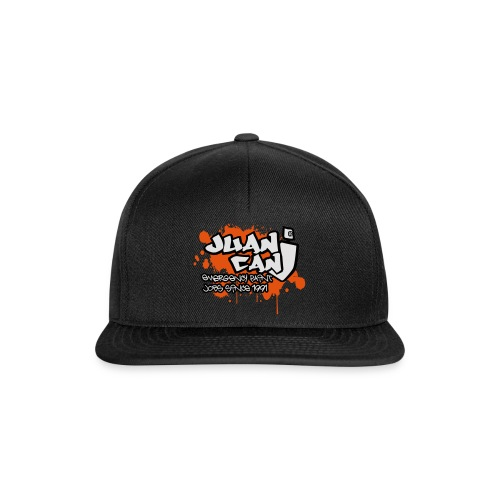 Juan can logo for spreadshirt Orange - Snapback Cap