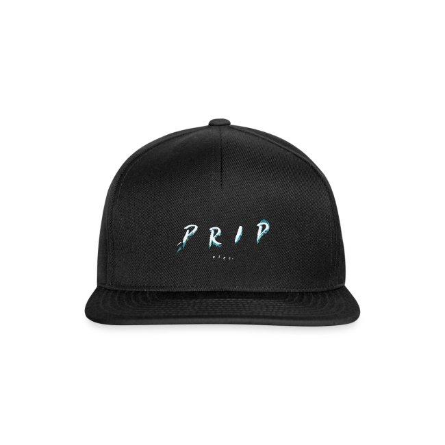 VIBE. 'D R I P' White Cap/Beanie Design