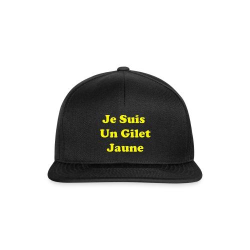 Gilet Jaune - Casquette snapback