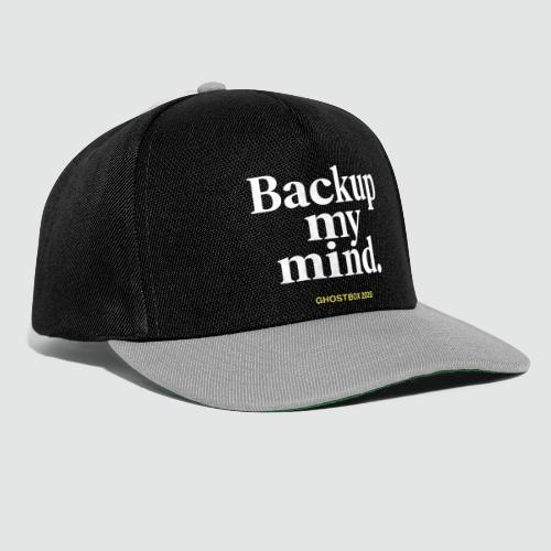 Backup my mind (Ghostbox Hörspiel) - Snapback Cap