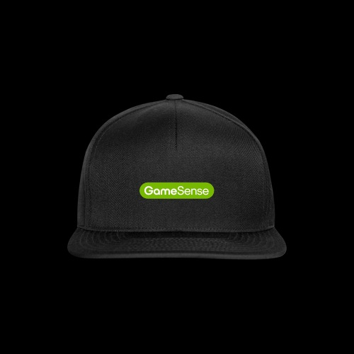 Clothing with green gamesense.pub - logo - Snapback Cap