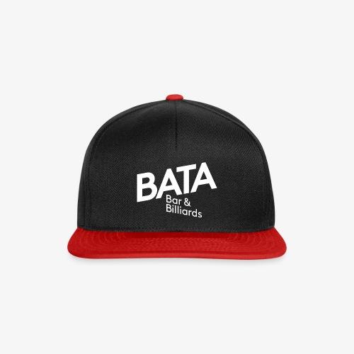 bata logo white 3000 png - Snapback Cap
