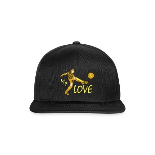 Fussballer My Love - Snapback Cap