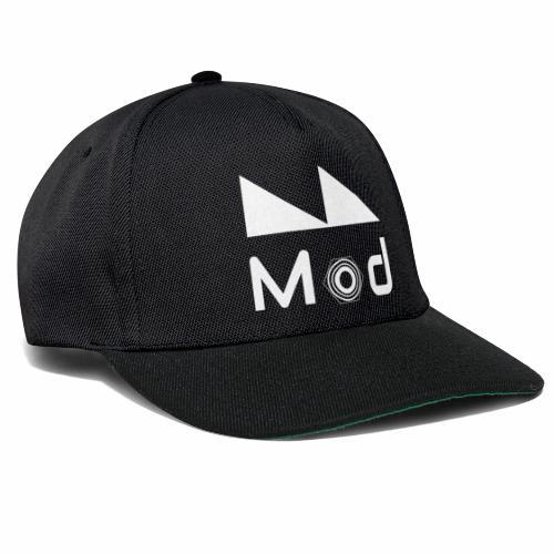 Milano Modulare Logo White - Snapback Cap