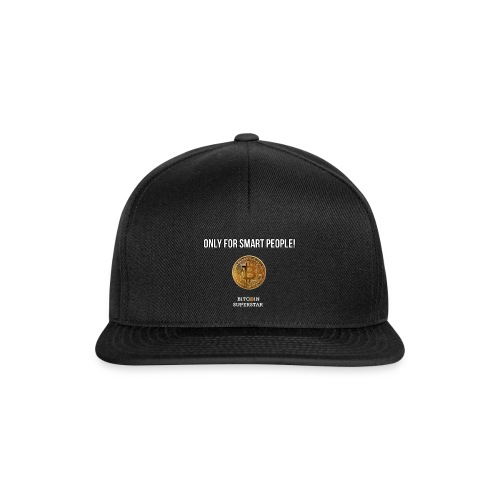 Only for smart people - Snapback Cap