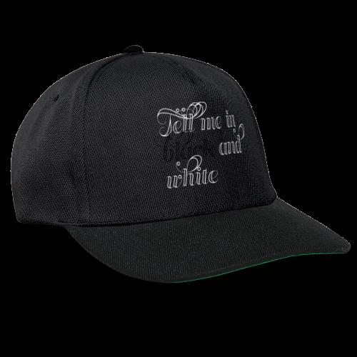 BLACK and WHITE - Snapback Cap