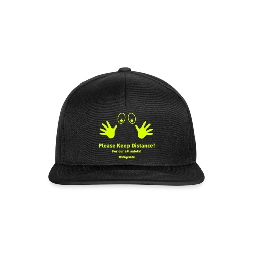Please Keep Distance - Snapback Cap