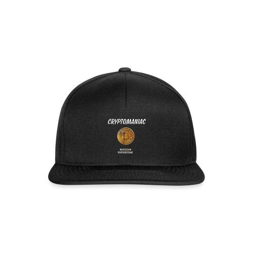 Cryptomaniac - Snapback Cap