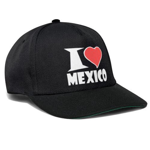 I love Mexico - Snapback Cap