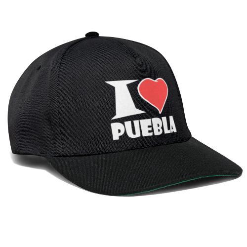 I love Puebla - Snapback Cap