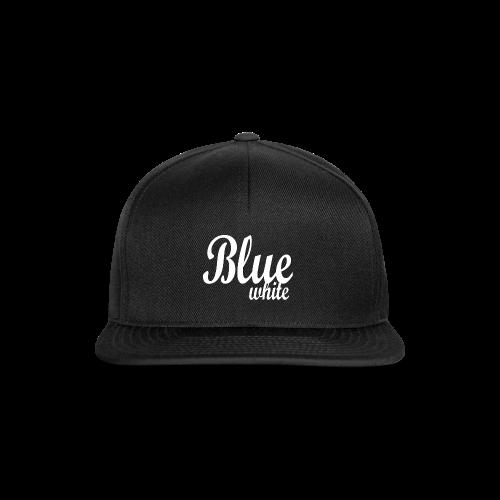 Blue White - Snapback Cap